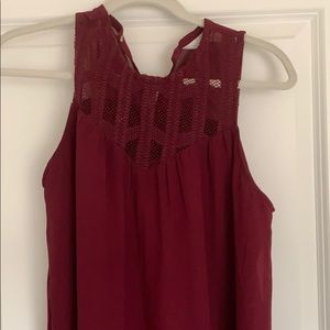 Maroon Charming Charlie dress
